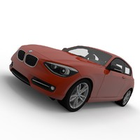 bmw 1 series obj