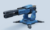 railgun turret gun 3ds