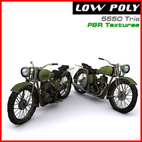 3d motorcycle ready games model