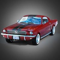 mustang 1966 3d max
