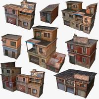 3d house build model