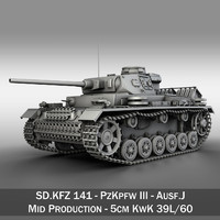 PzKpfw III - Ausf.J - Mid Production