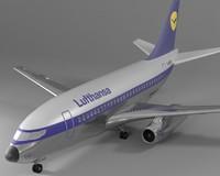 3d boeing 737 100 model
