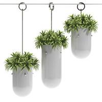 3d hanging pots