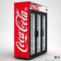 3d model of beverage cooler
