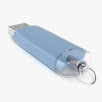 usb flash drive 3d c4d