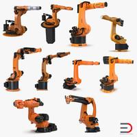 kuka robots 6 3d max