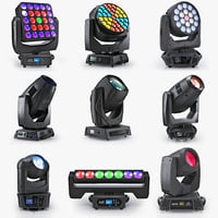 3d professional moving pro lights