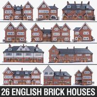 3d english brick houses