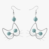 earrings cats