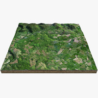 countryside great britain 3d max