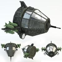 3d model robot air