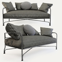 3d model minotti le parc sofa