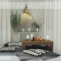 ralph lauren black palms 3d model