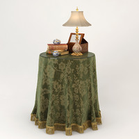 Wade Coffee Table With Tablecloth