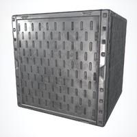 Metal Panel 1 PBR