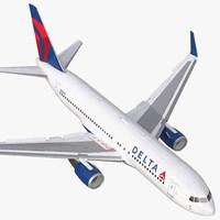 3d boeing 767 200er delta