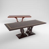 jendycarlo a6-06 dinner table 3d model