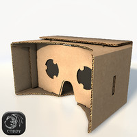 Google cardboard VR low poly