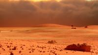 3d mars landscape