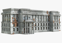 historical building 3d model