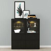 Display cabinets Ikea Besta