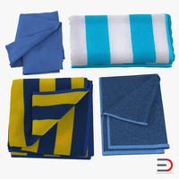 3d max towels 2