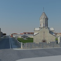 church goris 3d model