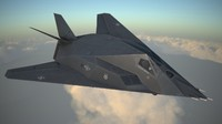 3d model lockheed nighthawk