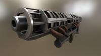 rail gun x