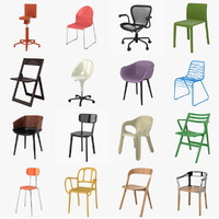 3d model magis chairs