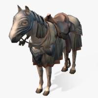 Medieval Horse 02