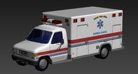 ambulance 3d max