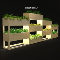 Green shelf