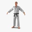 martial artist 3D models