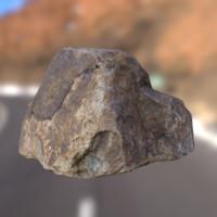 3d model rock unity3d