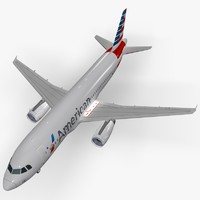 3d lwo airbus a320 american airlines
