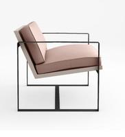 3d model armchair chair house