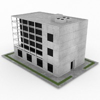 office build 11 3d max
