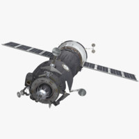 3d model soyuz spacecraft
