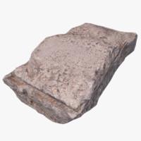 concrete debris x