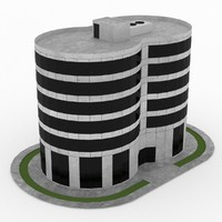 office build 12 3d model