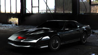 3d knight rider sports car model