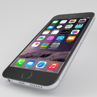 iphone 6 black 3d max