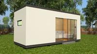 modular house 3d model