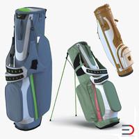 3d golf bags 3