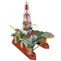 3d semi submersible platform