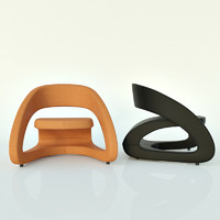 smile chair 3d max