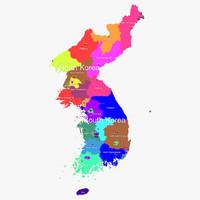 3d model korea
