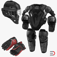 ma hockey protective gear kit